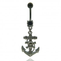 Piercing pirate pour le nombril