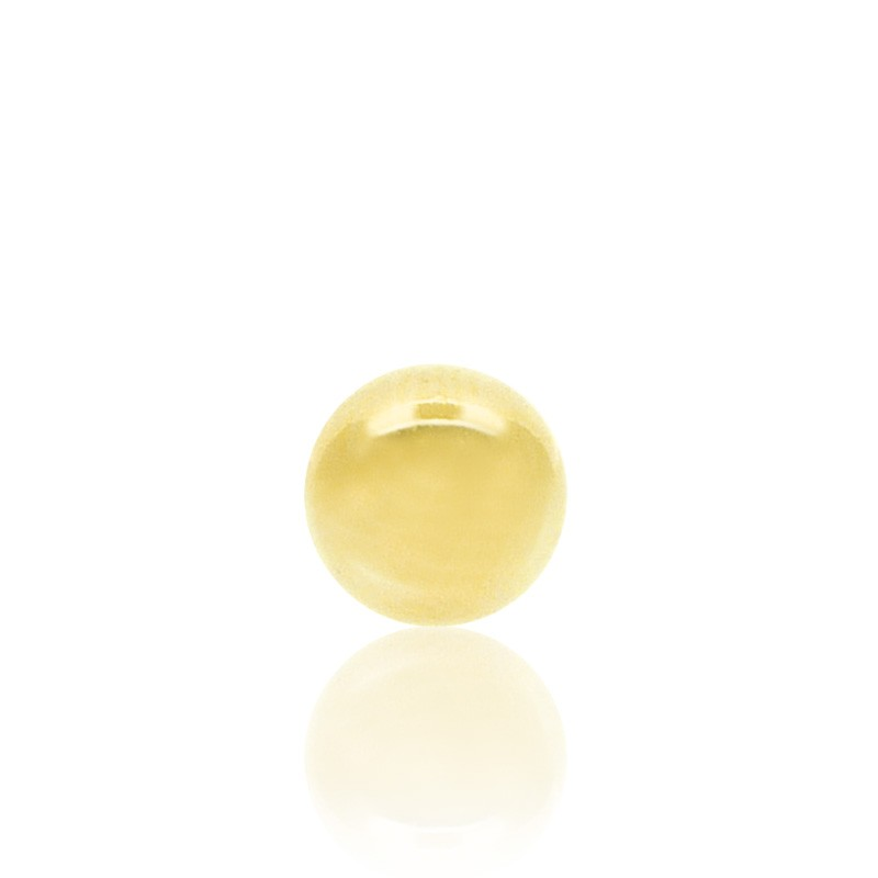 Piercing boule or jaune