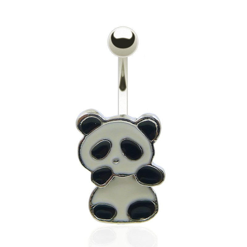 Piercing de nombril panda