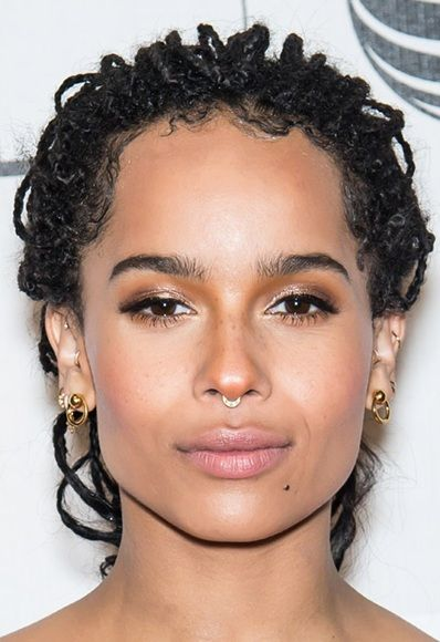Piercing de star : zor kravitz et son septum