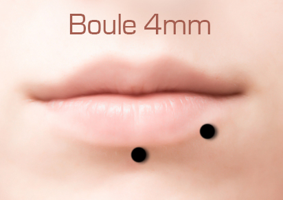 piercing bouche labret bien choisir la taille de son bijou. Black Bedroom Furniture Sets. Home Design Ideas